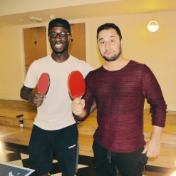 Table Tennis Tournament Winners - Ram and Henry